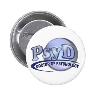 PsyD Doctor of Psychology LOGO Button