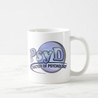 PsyD Doctor of Psychology LOGO Coffee Mug
