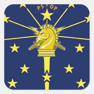 PSYOP Indiana Square Sticker