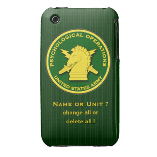 PsyOps emblem iPhone 3 Case-Mate Case