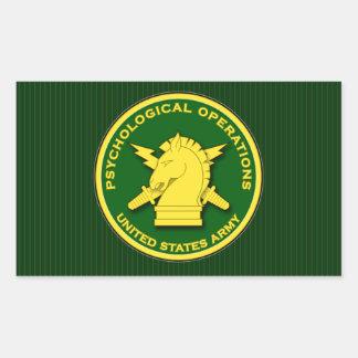 PsyOps emblem Rectangular Sticker