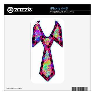 PsyTie - Psychedelic Tie iPhone 4 Skin