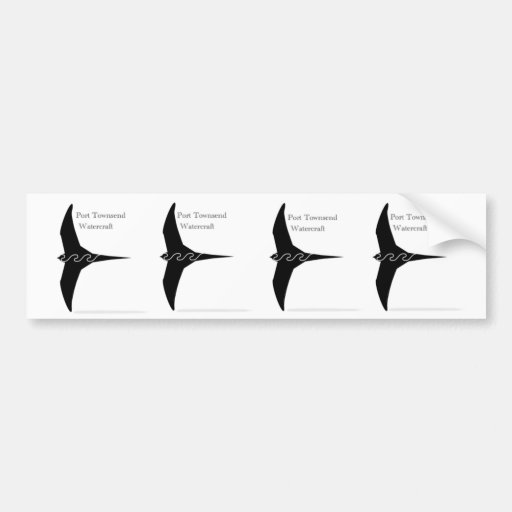 PT11 Pacific Swift Stckers Bumper Stickers