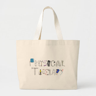 PT at Work Large Tote Bag