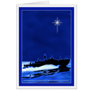 PT Boat ChristmasCard 1 Greeting Card