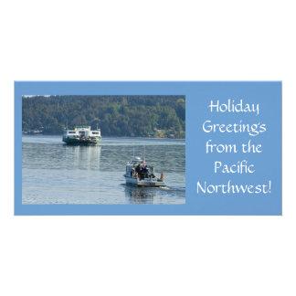 Pt. Defiance Ferry Photo Card