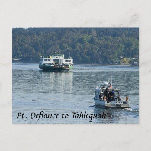 Pt. Defiance Ferry Postcard postcard