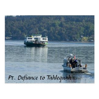 Pt. Defiance Ferry Postcard