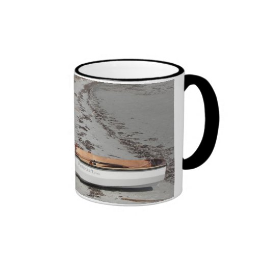 PT Eleven on the beach Ringer Coffee Mug