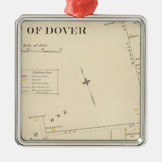 Pt of Dover Ward 1 Metal Ornament