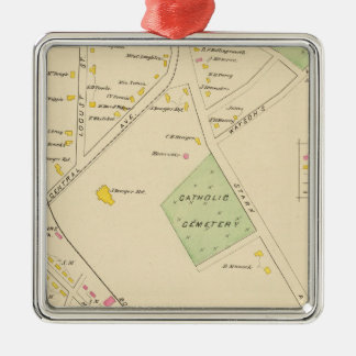 Pt of Dover, Ward 4 Metal Ornament