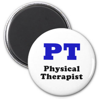 PT Physical Therapist 2 Inch Round Magnet
