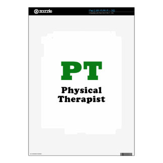 PT Physical Therapist iPad 2 Skin