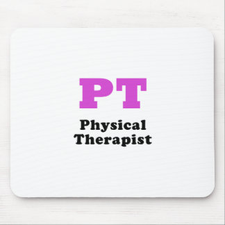 PT Physical Therapist Mouse Pad
