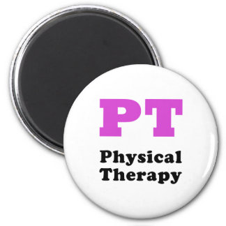 PT Physical Therapy 2 Inch Round Magnet