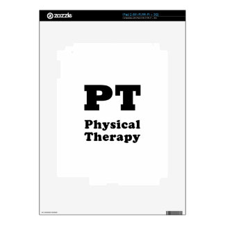 PT Physical Therapy Decal For The iPad 2