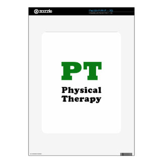 PT Physical Therapy Decals For The iPad