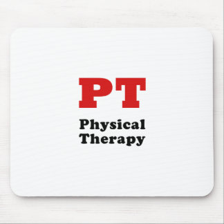 PT Physical Therapy Mouse Pad