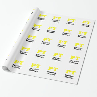 PT Physical Therapy Wrapping Paper