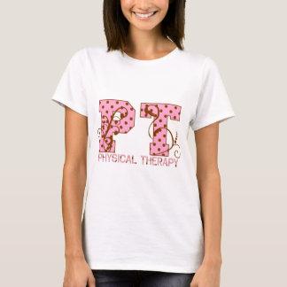 pt pink and brown polka dots T-Shirt