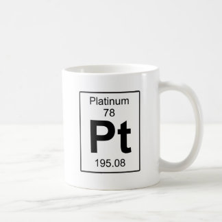 Pt - Platinum Coffee Mug