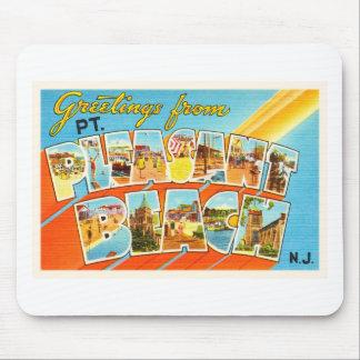 Pt Pleasant Beach New Jersey NJ Vintage Postcard- Mouse Pad