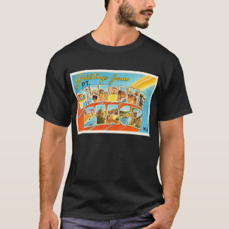 Pt Pleasant Beach New Jersey NJ Vintage Postcard- T-Shirt