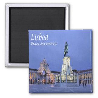 PT - Portugal - Lisbon - Commerce Square Magnet