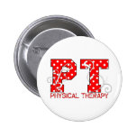 pt red white polka dots buttons