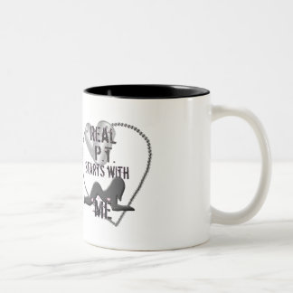 PT STARTS WITH ME 2 Two-Tone COFFEE MUG