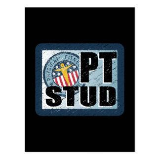 PT Stud Postcard