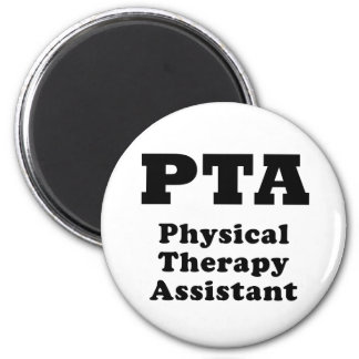 PTA Physical Therapy Assistant 2 Inch Round Magnet