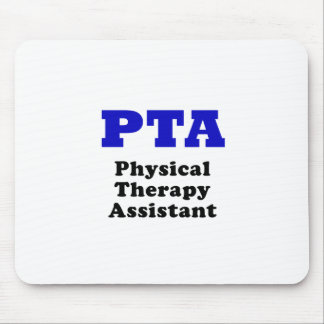 PTA Physical Therapy Assistant Mouse Pad