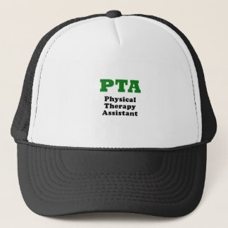 PTA Physical Therapy Assistant Trucker Hat