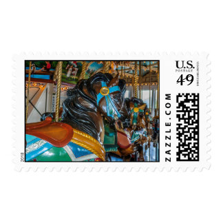 PTC Carousel 54 medium postage stamp