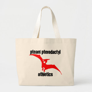 Pteam Pterodactyl Apparel Tote Bags