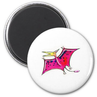 Pteranodon 2 Inch Round Magnet