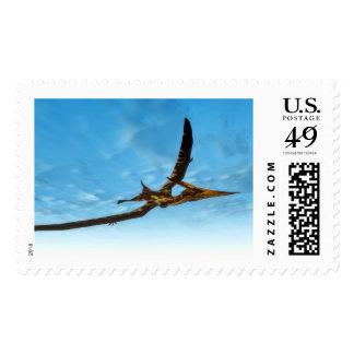 Pteranodon bird flying - 3D render Postage