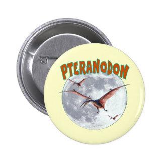 Pteranodon dinosaur button