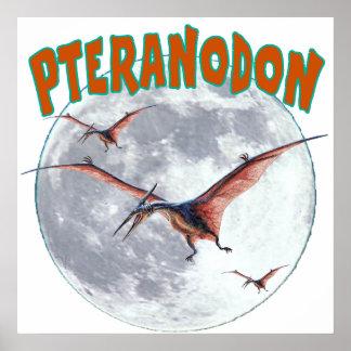 Pteranodon dinosaur poster