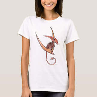 Pteranodon Ladies Fitted T-Shirt