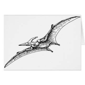Pterodactyl Card