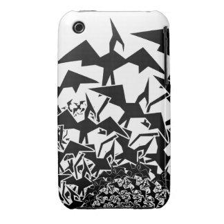 Pterodactyl de Fractyl iPhone 3 Case-Mate Cárcasas