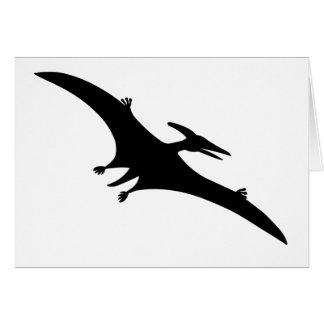 Pterodactyl Dinosaur Greeting Card