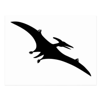 Pterodactyl postcards zazzle - Dinosaur volant ...