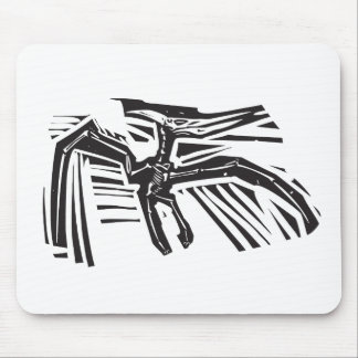 Pterodactyl Fossil Mouse Pad