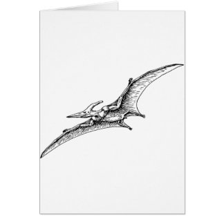 Pterodactyl Greeting Cards