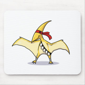 Pterodactyl has eggs and knows how to use them mouse pad