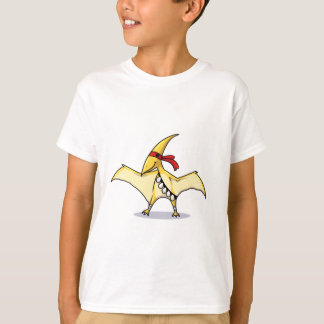 Pterodactyl has eggs and knows how to use them T-Shirt