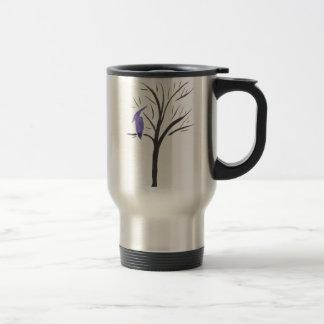 Pterodactyl In A Tree Travel Mug